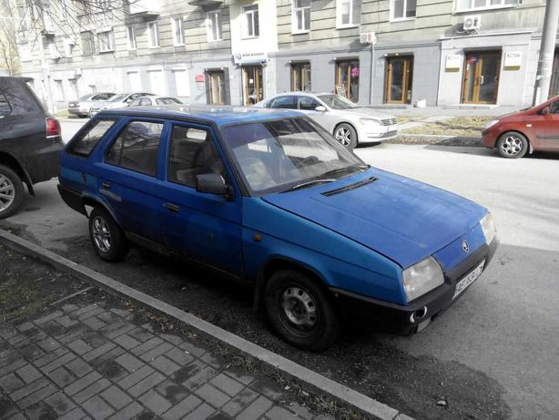 Шкода Форман 1993