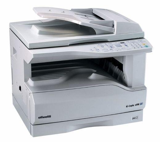 Impressora/fotocopiadora OLIVETTI D-COPIA 16W com toners novos