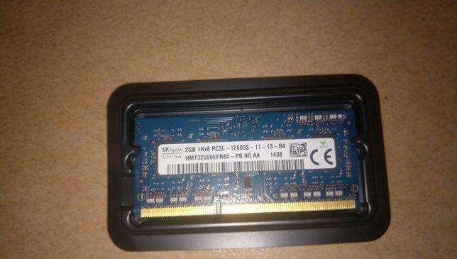 Оперативная память  ноутбука 2gb 1Rx8 PC3L-12800s-11-13-b4 Цена 130грн