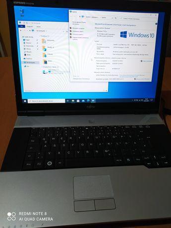 Sprzedam laptopa fujitsu v6555 3gb 500gb