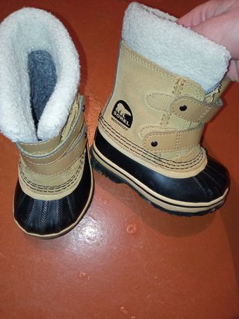 Ботинки на мальчика Sorel Waterproof