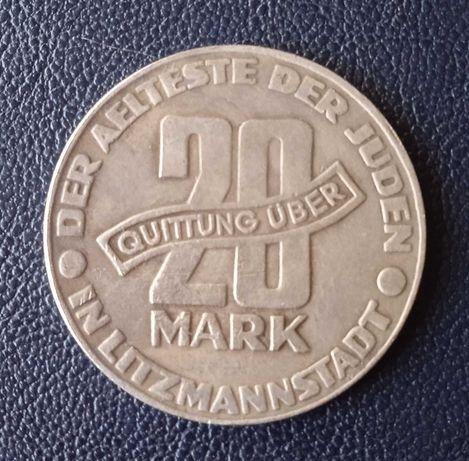 Польша 20 марок, 1943 (коп)