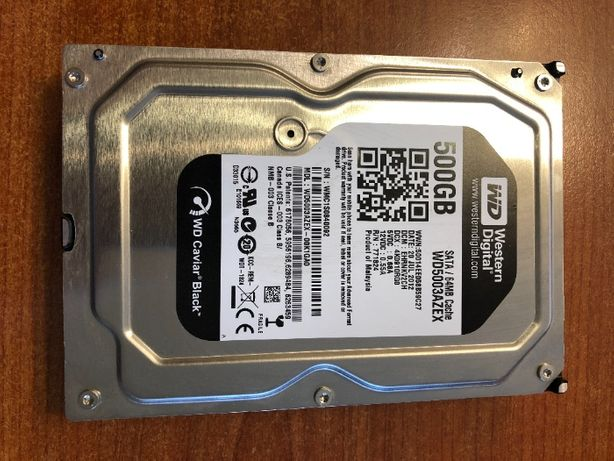 Жесткий диск WD Black 500Gb WD5003AZEX