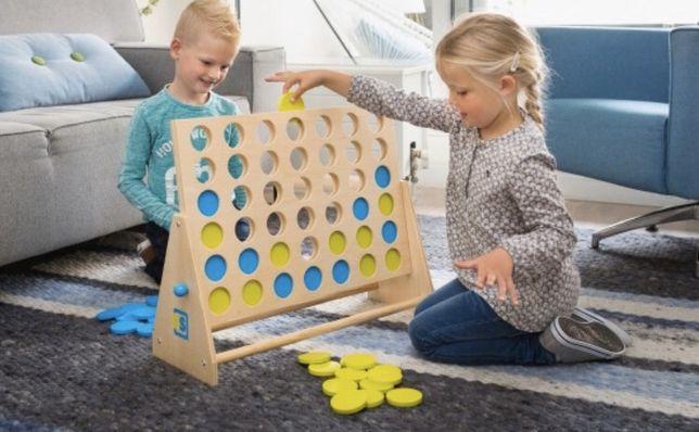 Gra rekreacyjna klasyczna drewniana
