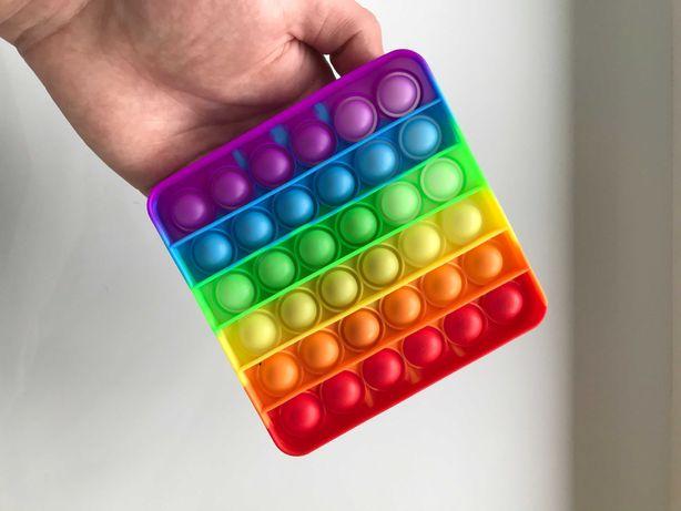 Pop It – Поп ит – игрушка-антистресс квадратная – отвечаем сразу