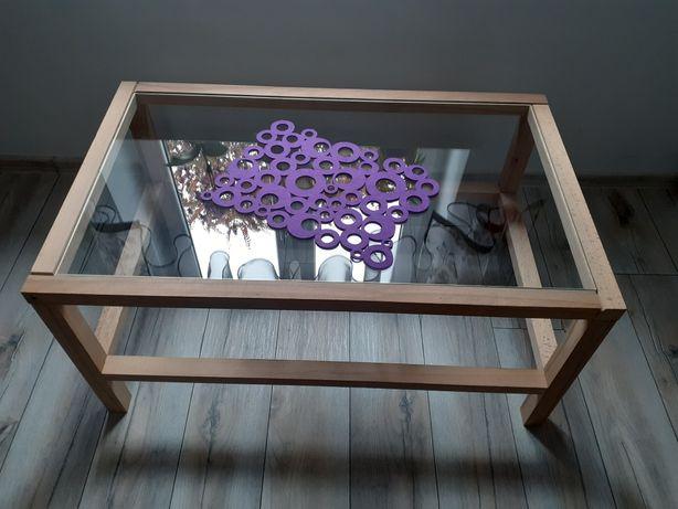 Stolik kawowy Z drewna bukowego solidny