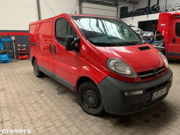 Opel vivaro  faktura VAT cena netto