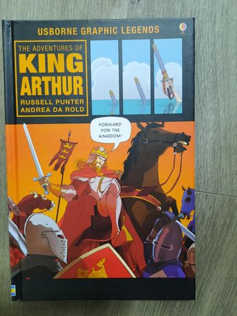 The adventures of King Arthur komiks