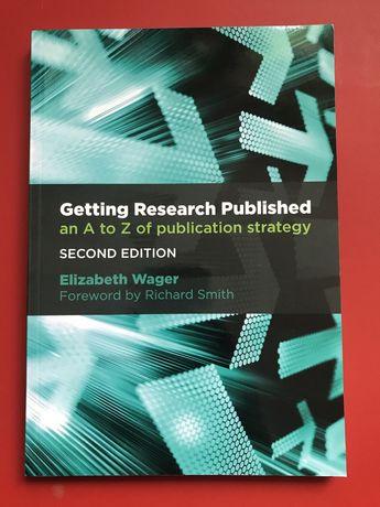 Getting Research Published  - Książka dla piszących publikacje naukowe