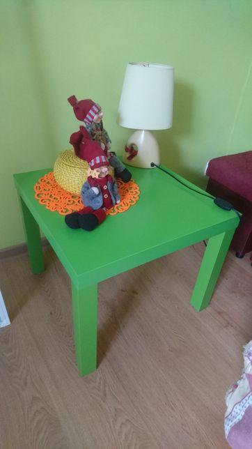 Stolik zielony IKEA LACK mały