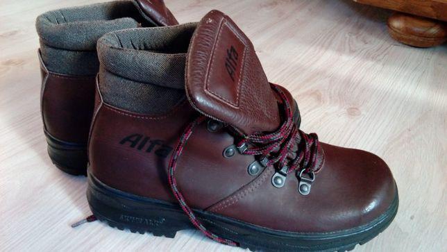 Buty skórzane firmy Alfa