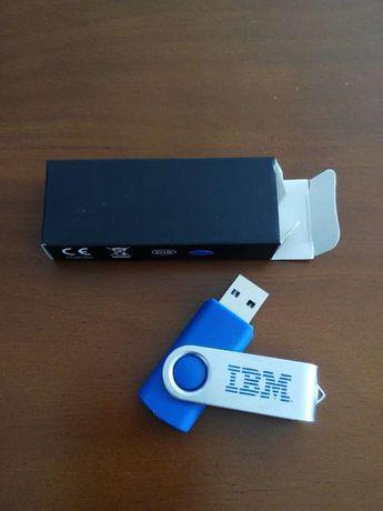 Pen 2GB IBM azul com caixa