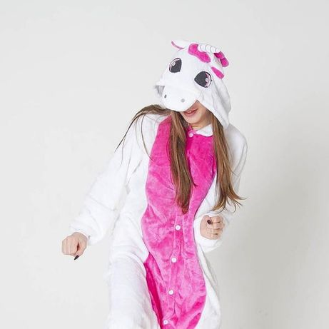Кигуруми Единорог Пегас бело-розовый / ОПТ / ДРОП / РОЗНИЦА 80 моделей