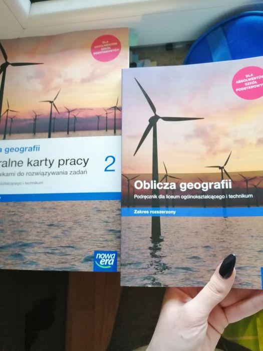Sprzedam książki z geografii, zakres rozszerzony, 2 klasa po szkole po Pruszków - image 1