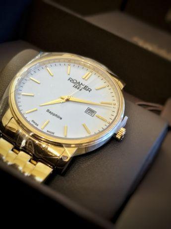 Zegarek męski koloru złotego Roamer Classic