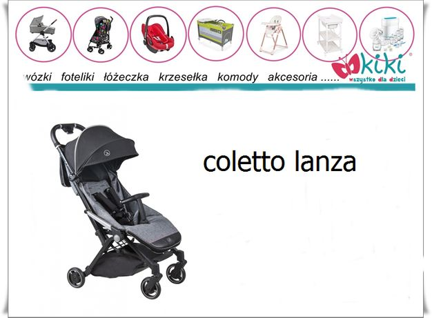 Coletto wózek spacerowy Lanza Grey Melange
