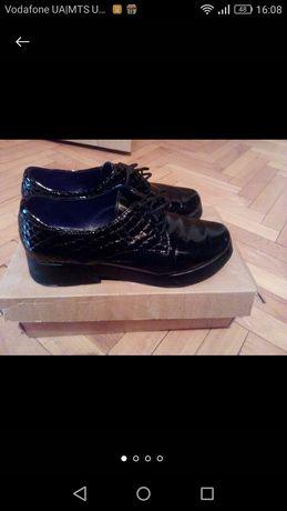 Туфлі натуральні