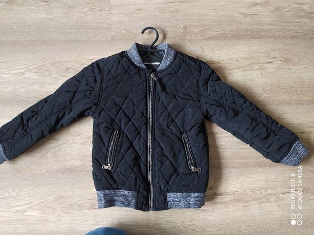 pikowana kurtka Bomberka H&M rozmiar 116