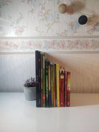 Zestaw książek dla nastolatków nastolatki wymienię
