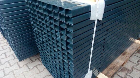 Słupek 40x60x1,5 H-230 ocynk/kolor Sprzedaż Hurtowa Producent