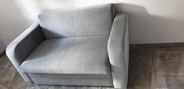 Sofa 2 osobowa rozkładana ze skrzynią