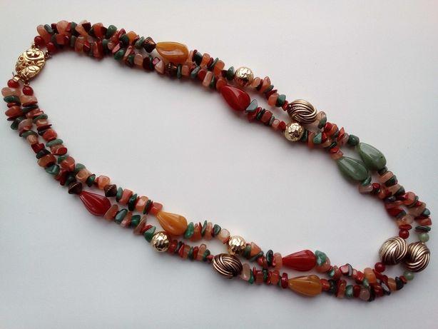 - Винтажное, красивое украшение - ожерелье. Привезено с Европы.