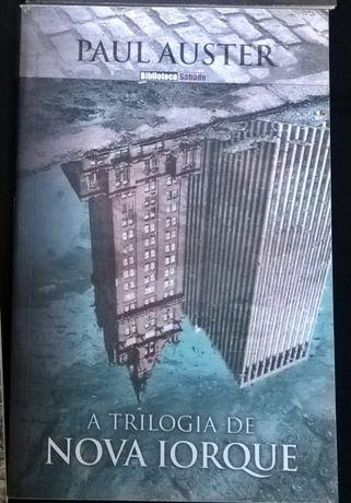 Livro - Paul Auster – A Triologia de Nova Iorque