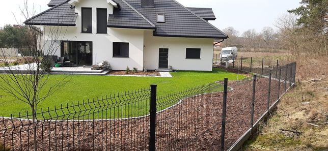 Montaż ogrodzeń panelowych oraz polisadowych