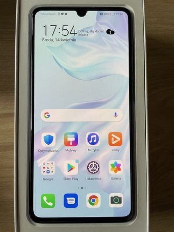 Huawei P30, stan idealny, gwaracja