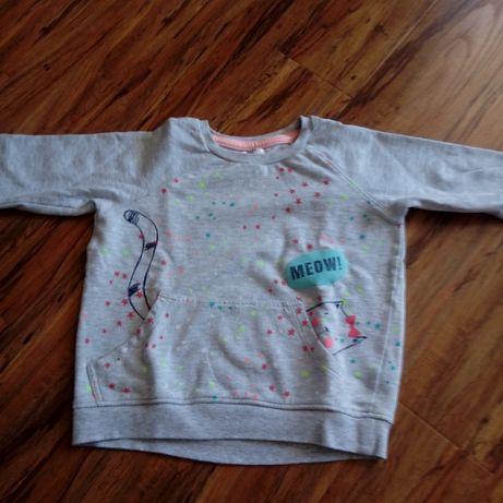 bluza dla dziewczynki na wzrost 128. Stan bdb