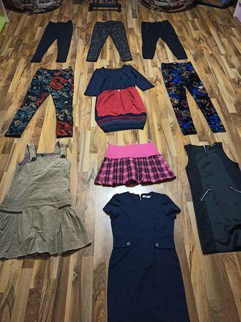 Школьные сарафаны, блузки, платья, юбки, лосины, кофты, свитера, шорты