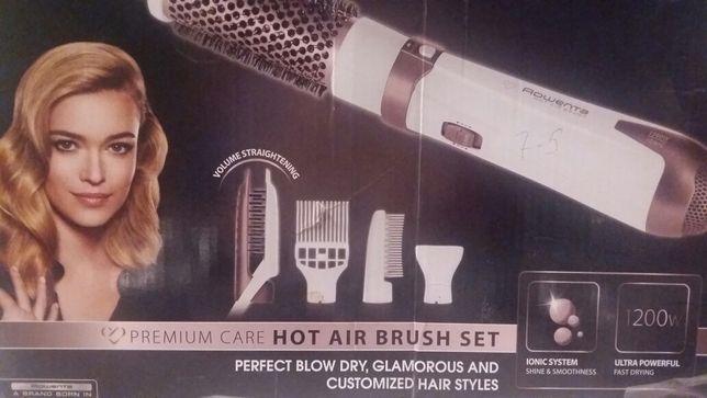 Насадки для фена щетки Rowenta Hot Air Brush 4 штуки новые