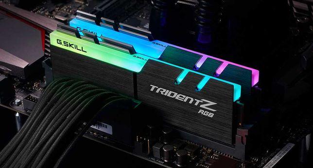 Pamięć RAM G.Skill Trident Z RGB 32GB(2x16GB]DDR4 3600MHz NOWE Zamiana