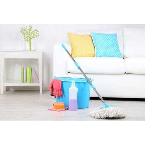 Уборка квартир, домов, офисов и других помещений