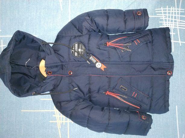 Куртка зимняя детская для мальчиков