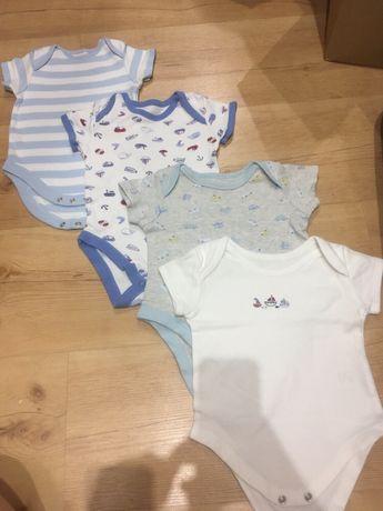 Body niemowlęce z krótkim rękawem 68cm