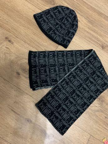 Шапка+шарф новое