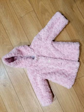Шубка детская розовая