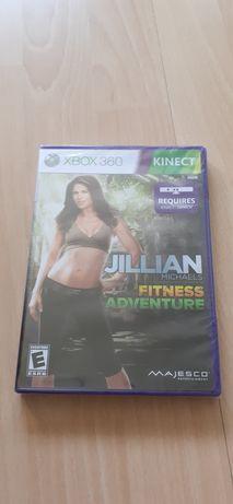 Nowa gra na Xboxa 360 Kinect Jillian Michales Fitness Adventure.