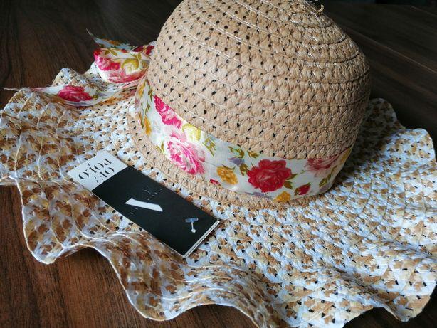 Przepiękny nowy kapelusz dla dziewczynki