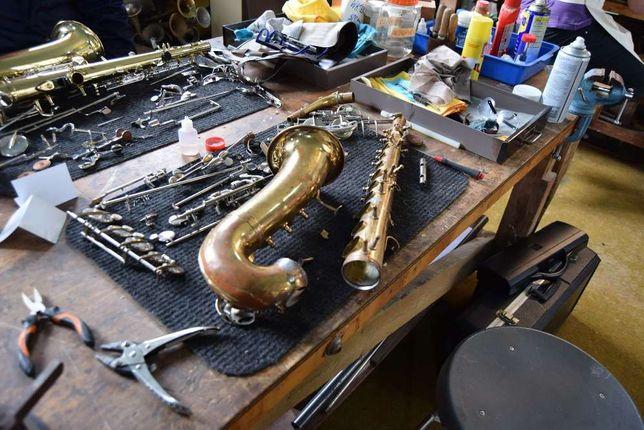 Reparação de Saxofones