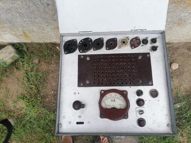 Miernik tester lamp elektronowych