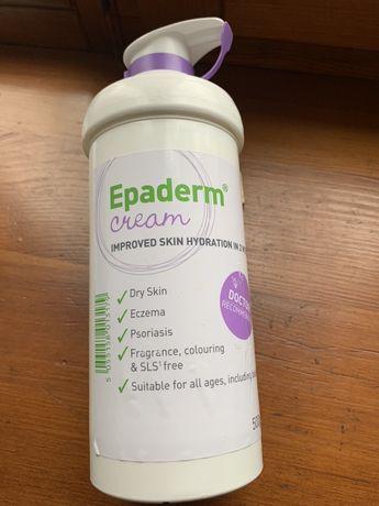 Крем Epaderm для сухой и очень сухой кожи рекомендуется при экземе