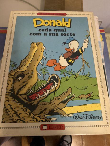 Livro Donald capa dura Edinter