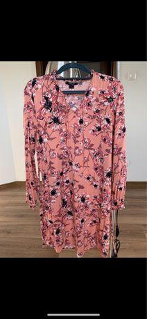 Wiosenna sukienka w kwiaty roz. 34