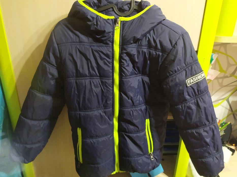 kurtka 134 zimowa ortalion dla chłopca Kotlarnia - image 1