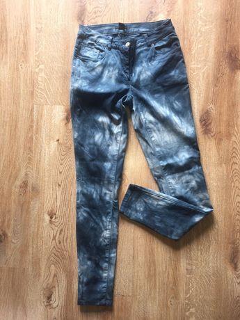 Spodnie marmurki H&m R 40 strech