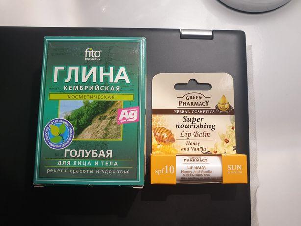 Balsam do ust miód i wanilia oraz gratis glinka niebieska