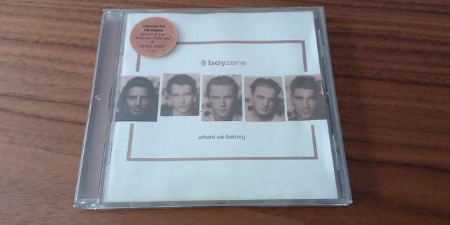 CD - Boyzone - where we belong
