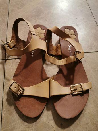 Sandałki damskie rozmier 39